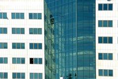 budynku abstrakcjonistyczny widok Zdjęcie Royalty Free