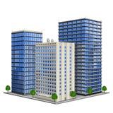 budynku biuro ilustracji