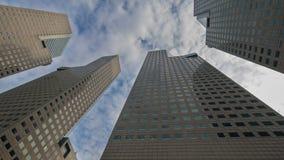 Budynku biurowego drapacz chmur Obrazy Royalty Free