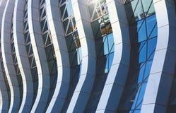 Budynku biurowego nadokiennego szkła abstrakta wzór Obraz Royalty Free