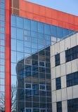 Budynku biurowego odbicia tło Zdjęcie Stock