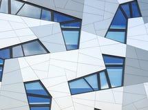 Budynku biurowego tło, horyzontalny Obrazy Royalty Free
