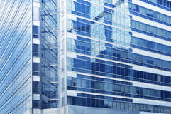 budynku biznesowa szklana struktury powierzchnia Zdjęcia Stock