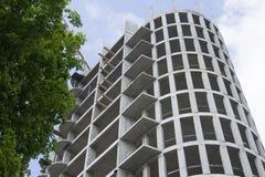 budynku budowy żuraw duży Obraz Royalty Free