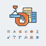 Budynku, budowy i domu naprawy narzędzia, Zdjęcia Stock