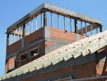 budynku budowy mieszkania domu miejsca tenement Obrazy Stock