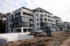 budynku budowy nowożytny poniższy Zdjęcia Royalty Free