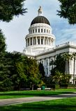 budynku California kapitał Sacramento Obrazy Royalty Free