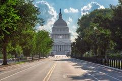 budynku capitol dc stan zlany Washington obrazy royalty free