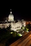 budynku capitol Indiana stan fotografia royalty free