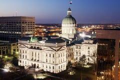 budynku capitol Indiana stan obraz royalty free