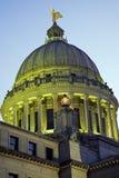budynku capitol Jackson Mississippi stan Obraz Royalty Free