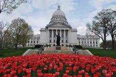 budynku capitol Madison wi zdjęcie stock