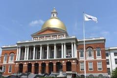 budynku capitol Massachusetts stan zdjęcia royalty free