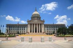 budynku capitol miasta Oklahoma stan Fotografia Royalty Free