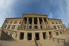 budynku capitol stan Tennessee zdjęcie royalty free