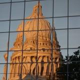 budynku capitol stan Wisconsin fotografia stock