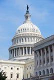 budynku capitol zbliżenia dc wzgórze Washington obraz stock