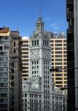 budynku Chicago zegarowy wierza Wrigley Obrazy Royalty Free