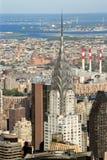 budynku Chrysler miasto nowy York Zdjęcia Royalty Free