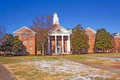 budynku czarny kampus historycznie fotografia stock
