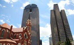 budynku Dallas śródmieście zdjęcie stock