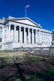 budynku dc s skarbiec u Washington fotografia royalty free