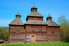 budynku drewniany kościelny stary obraz royalty free
