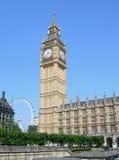 budynku England London parlament uk Obraz Royalty Free