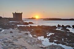 budynku essaouira forteczny mogador Morocco obrazy royalty free