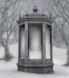 budynku fantazi zima Fotografia Royalty Free