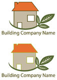 Budynku Firma logo Zdjęcie Royalty Free