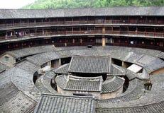 budynku Fujian wielki piętrowy Fotografia Royalty Free