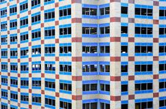 budynku graniasty błękitny okno Obrazy Royalty Free