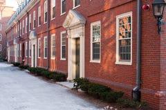 budynku Harvard stary uniwersytet Obrazy Royalty Free