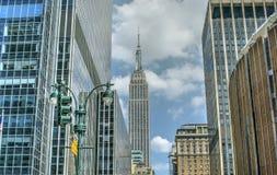 budynku imperium Manhattan nowy stan usa York zdjęcie royalty free