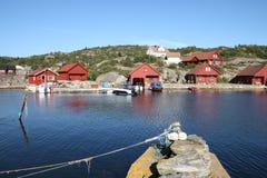 budynku jelenia krajowa Norway wioska Zdjęcia Stock