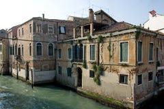 budynku kanał Venice Zdjęcie Royalty Free