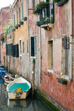 budynku kanał Venice Obrazy Royalty Free