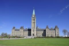 budynku kanadyjski Ottawa parlament Obrazy Stock