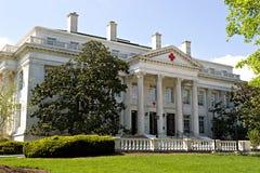 budynku kapitału krzyża dc czerwień usa Washington Obrazy Royalty Free