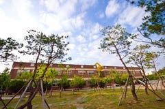 budynku koreańczyka szkoły południe zdjęcie royalty free