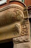 Budynku kroksztyn z pęknięciem Fotografia Stock