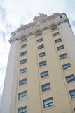 budynku kubańskiej wolności dziejowy inmigration Miami wierza Fotografia Stock