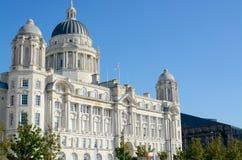 budynku Liverpool port Zdjęcia Stock