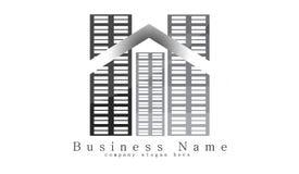 budynku logo Fotografia Stock