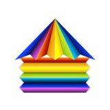 Budynku logo Zdjęcia Royalty Free