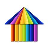 Budynku logo Zdjęcie Royalty Free