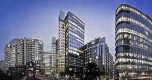 budynku London biuro Zdjęcie Royalty Free