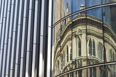 budynku London biznesowy odbicie zdjęcia stock